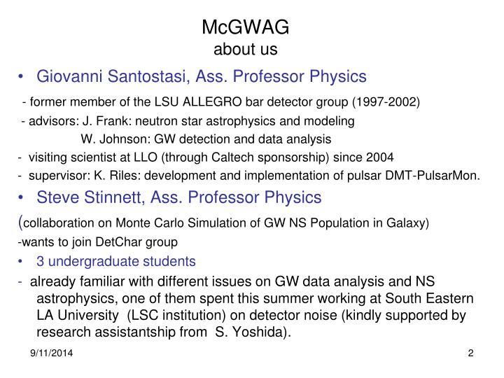 McGWAG