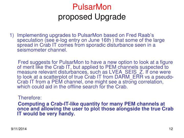 PulsarMon