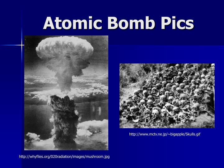 Atomic Bomb Pics