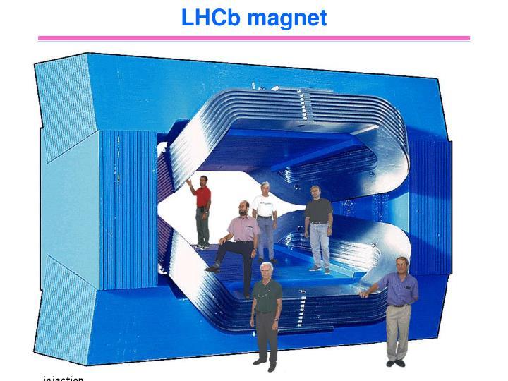 LHCb magnet