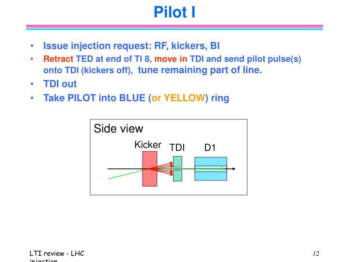 Pilot I