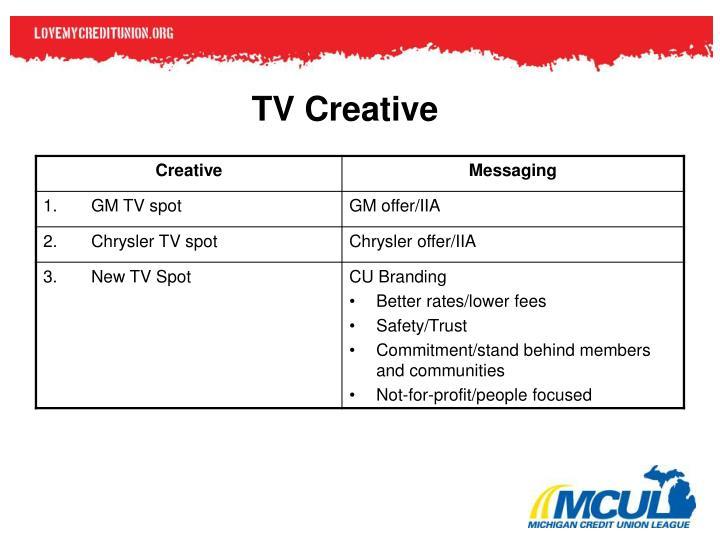 TV Creative