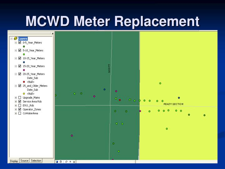 MCWD Meter Replacement