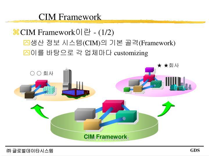 CIM Framework