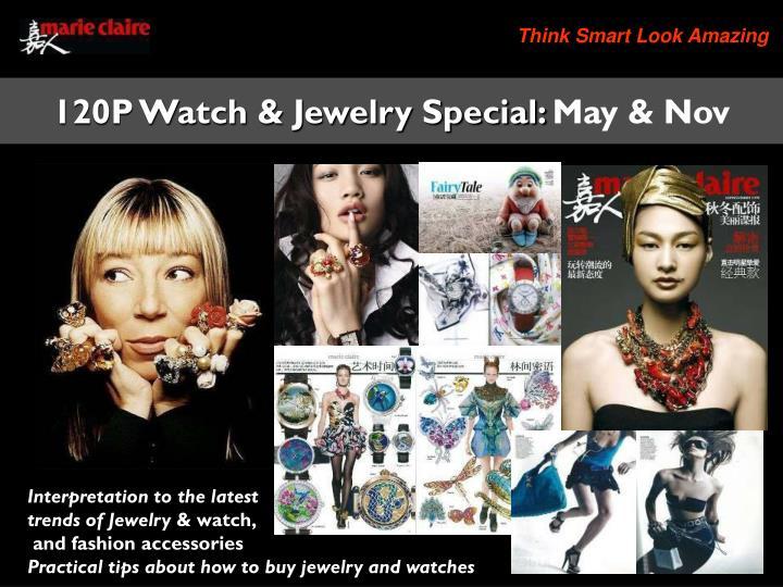 120P Watch & Jewelry Special: