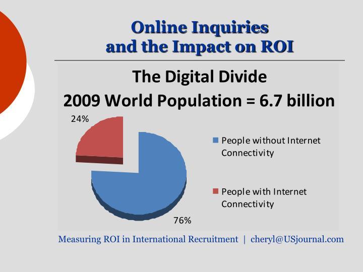 Online Inquiries
