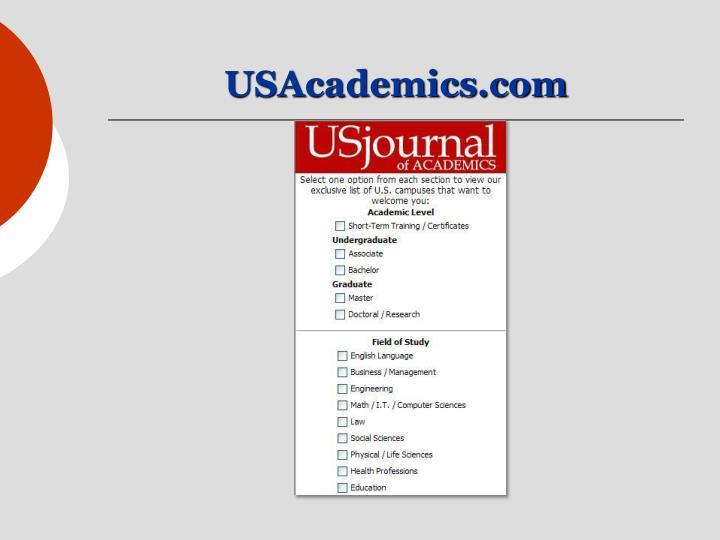 USAcademics.com