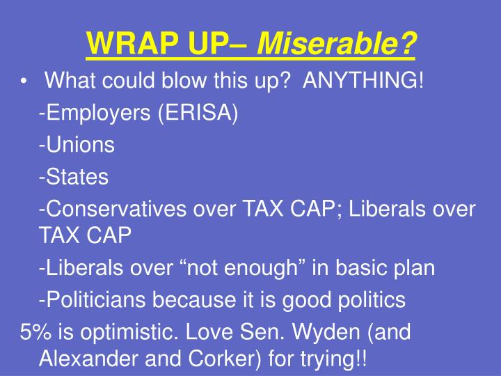 WRAP UP–