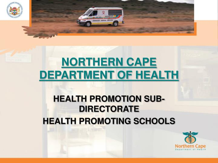 Northern cape department of health1