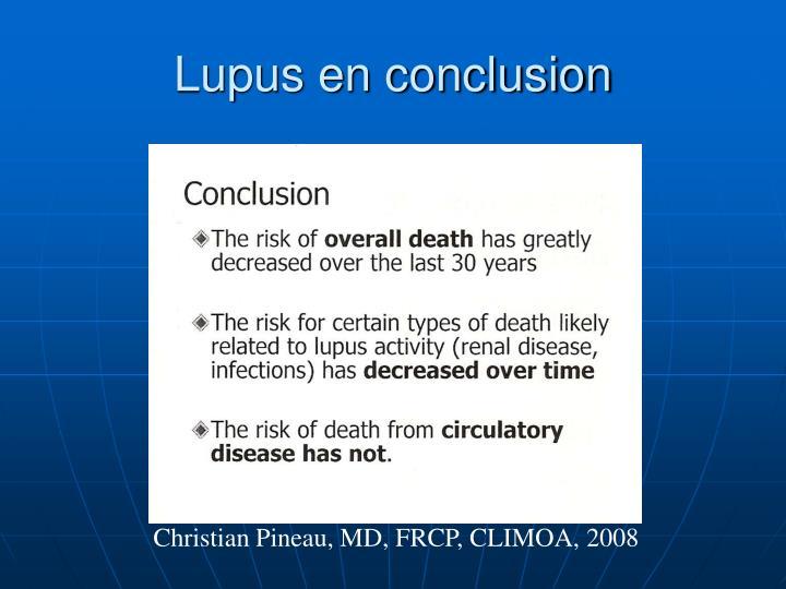 Lupus en conclusion