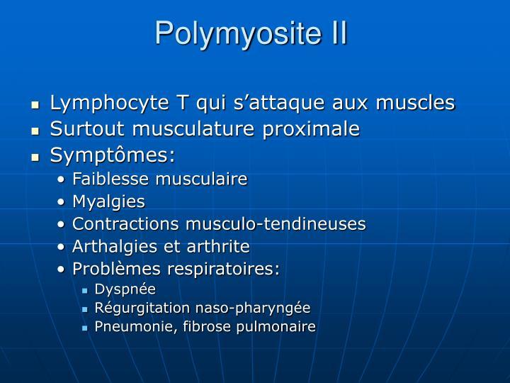 Polymyosite II