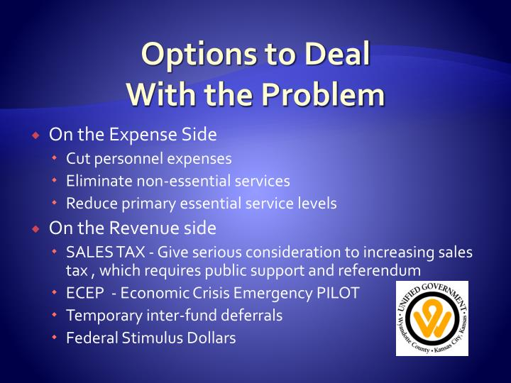 Options to Deal