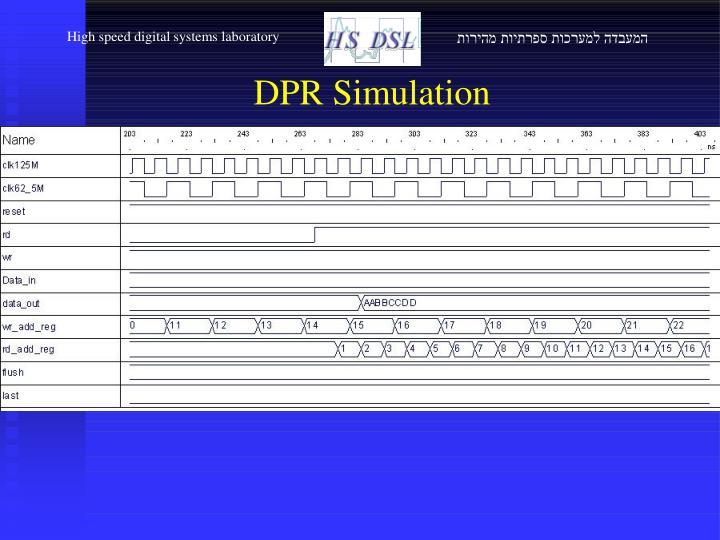 High speed digital systems laboratory