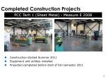completed construction projects1