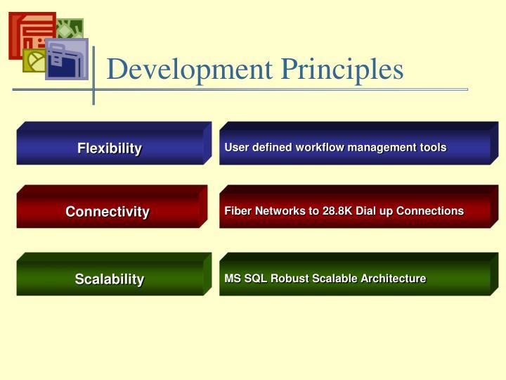 Development Principles