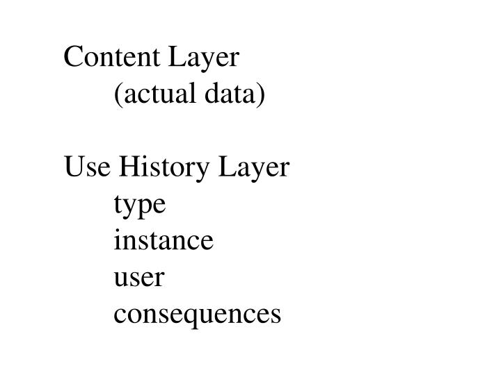 Content Layer