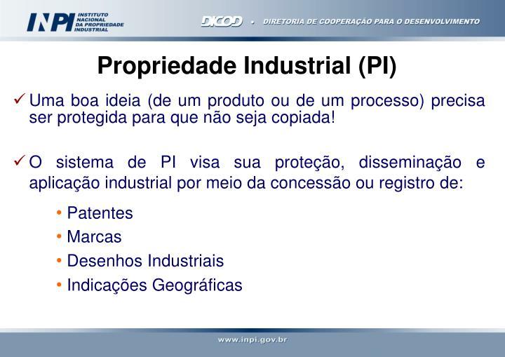 Propriedade Industrial (PI)