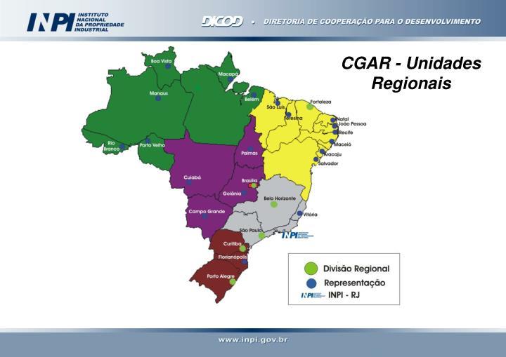 CGAR - Unidades Regionais