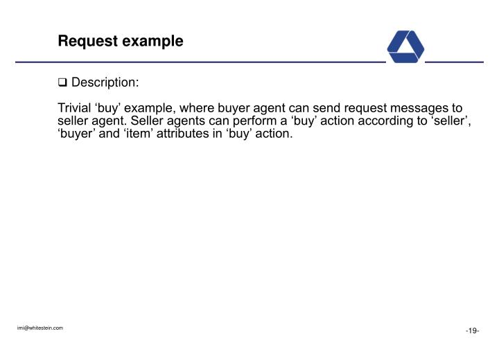 Request example