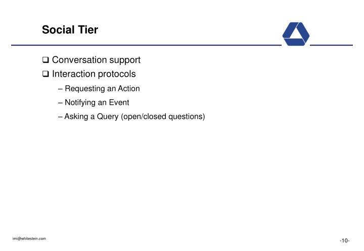 Social Tier