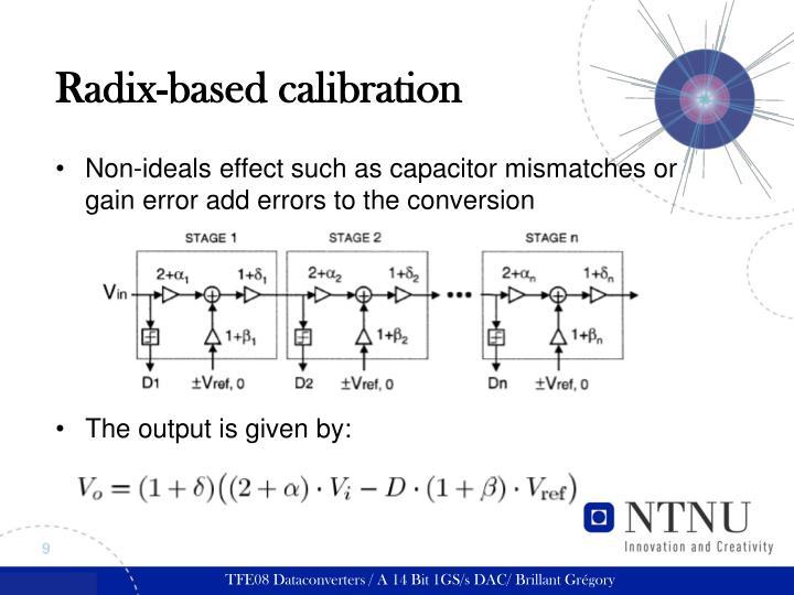 Radix-based calibration