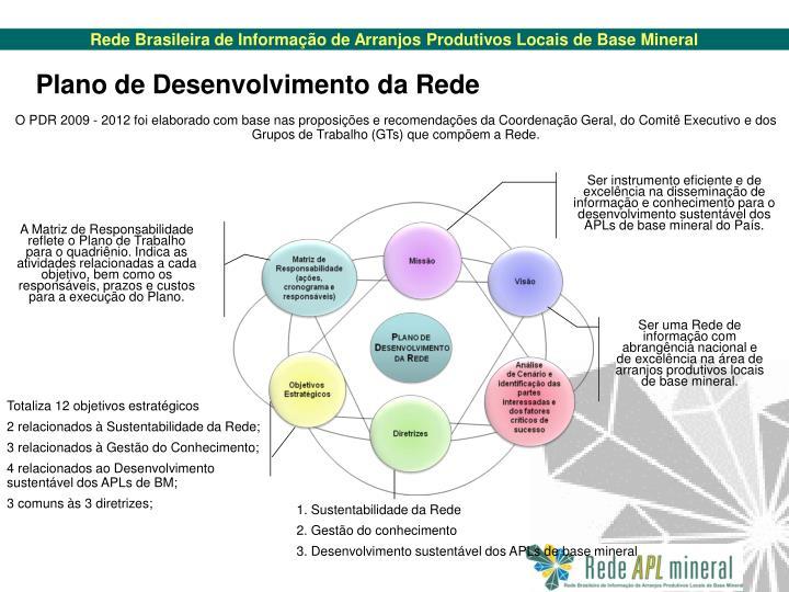 Plano de Desenvolvimento da Rede