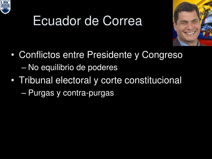 Ecuador de Correa