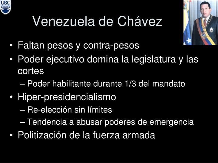 Venezuela de Ch