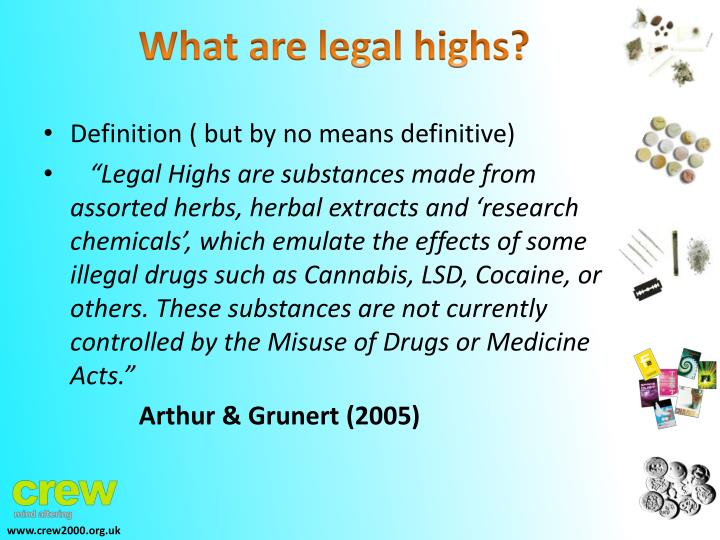What are legal highs?