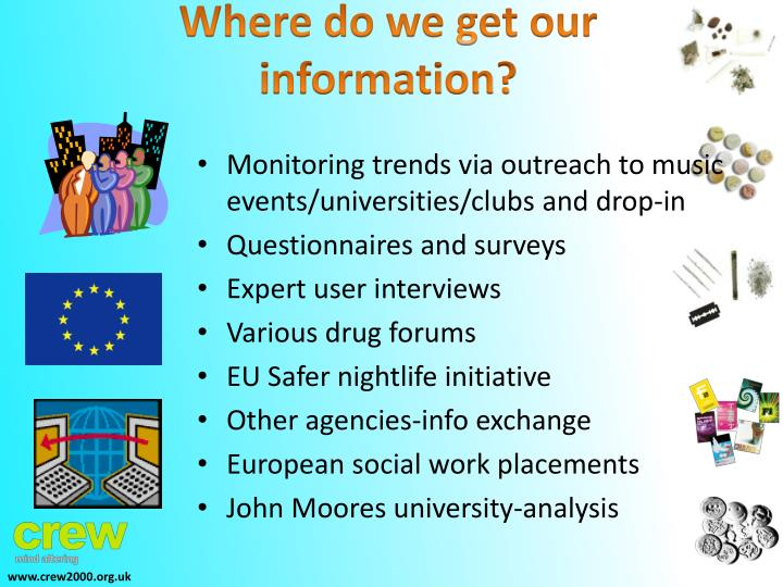 Where do we get our information?