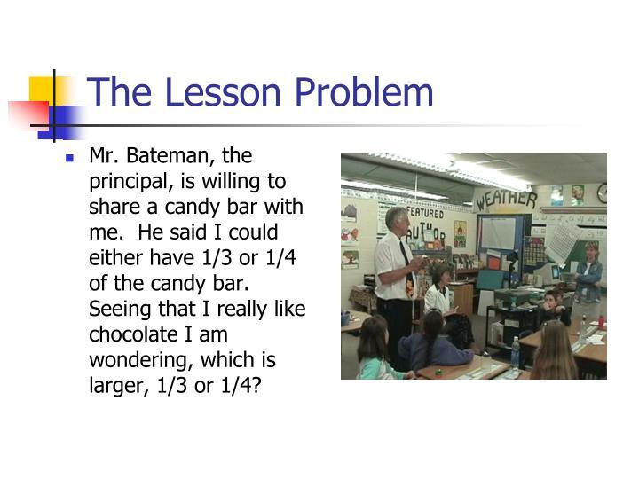 The Lesson Problem