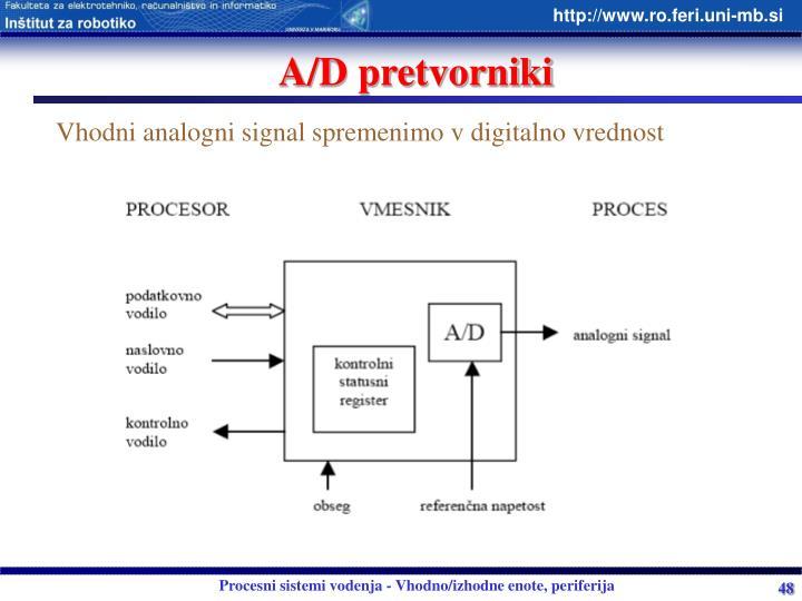 A/D pretvorniki