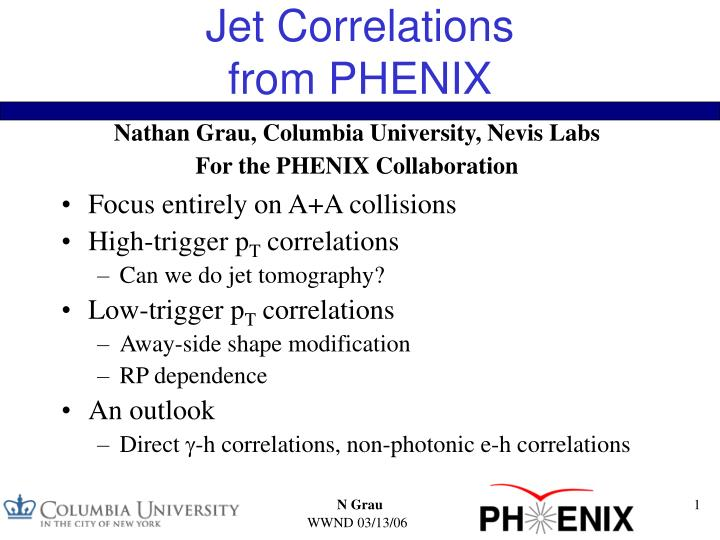 Jet correlations from phenix
