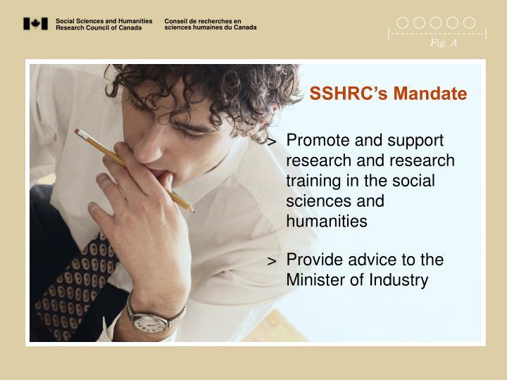 SSHRC's Mandate
