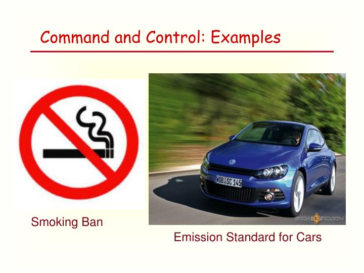 Command and Control: Examples