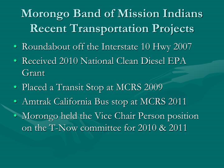 Morongo Band of Mission Indians