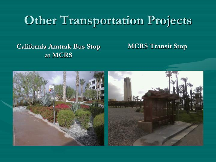 Other Transportation Projects