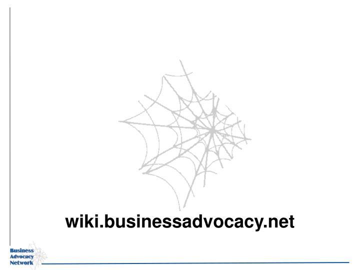 wiki.businessadvocacy.net