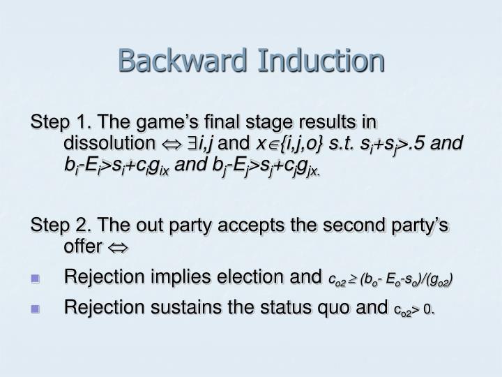 Backward Induction
