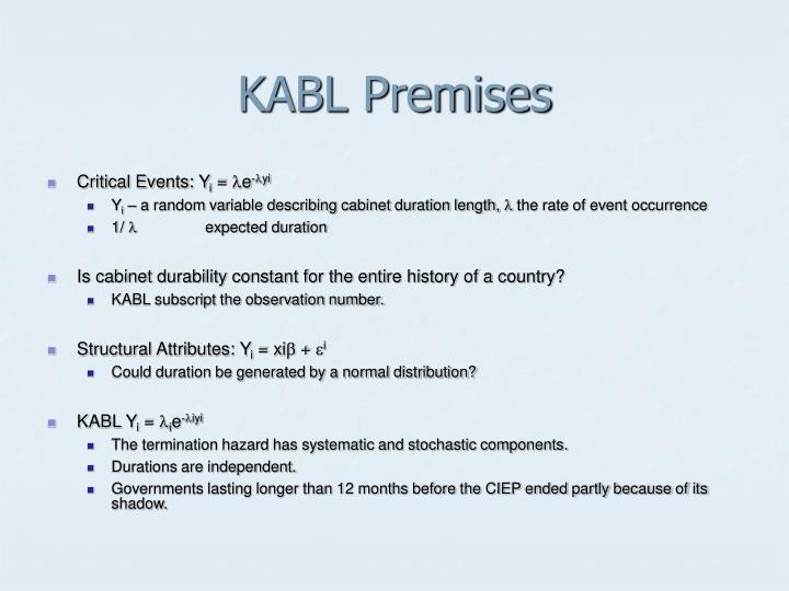 KABL Premises