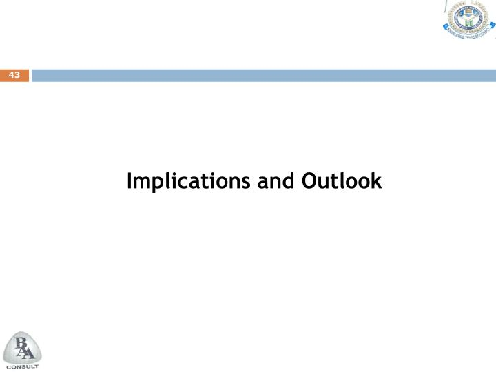 Implications and Outlook