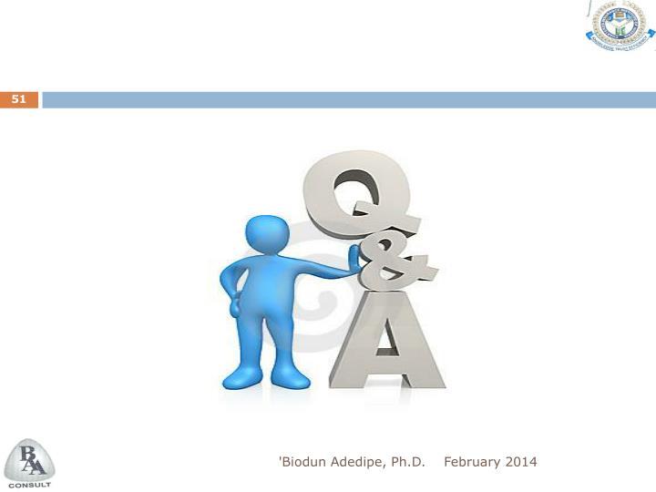 'Biodun Adedipe, Ph.D.