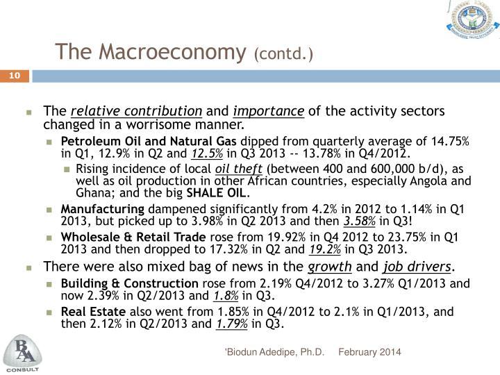 The Macroeconomy