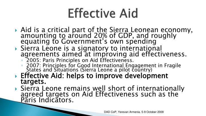 Effective Aid