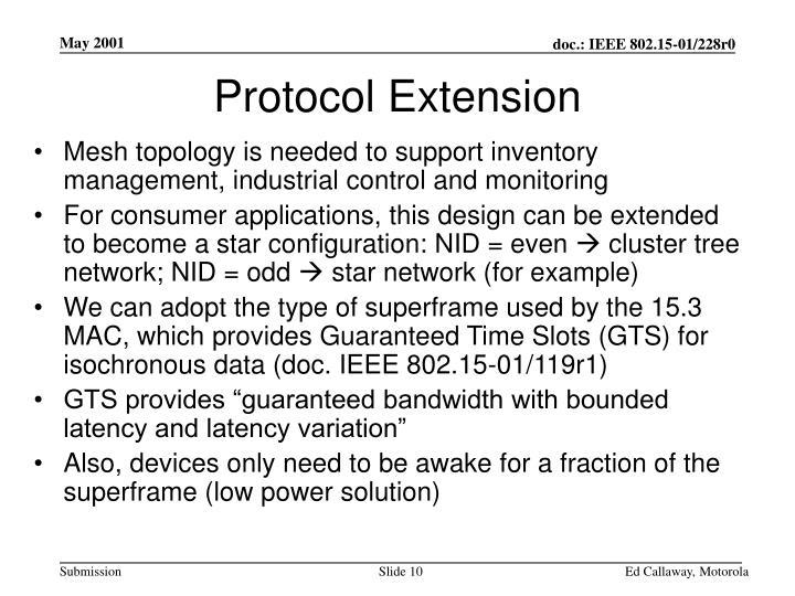 Protocol Extension