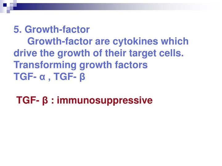 5. Growth-factor