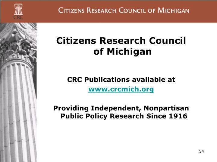 Citizens Research Council