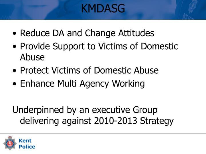 Reduce DA and Change Attitudes