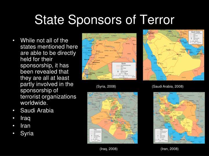 State Sponsors of Terror