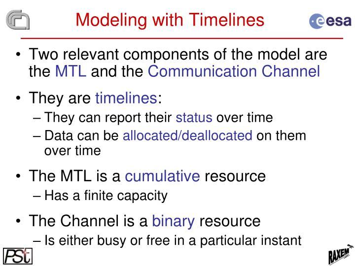 Modeling with Timelines